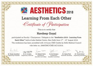 CME Asthetics 2018
